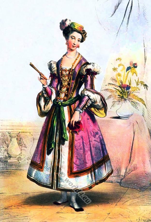 Dame Anglaise de la Cour de Henry VIII