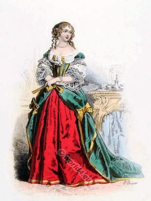Comtesse, Sévigné, Grignan, Louis XIV, fashion, history, court, dress, baroque, 17th, century, Versailles,