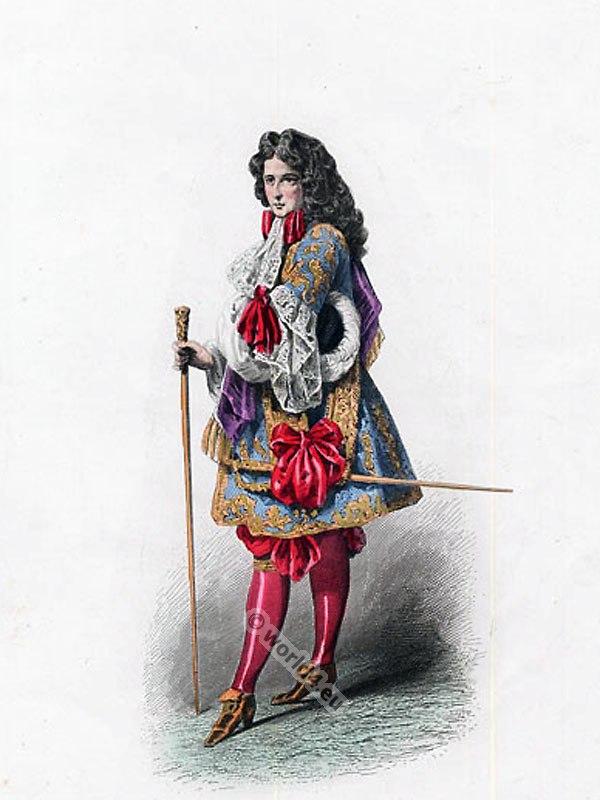 Costume, court, Louis XIV, Baroque, Versailles