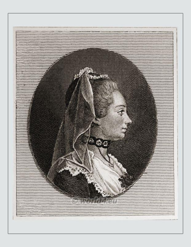 Salonnière, Jeanne Julie de Lespinasse, Rococo, fashion,