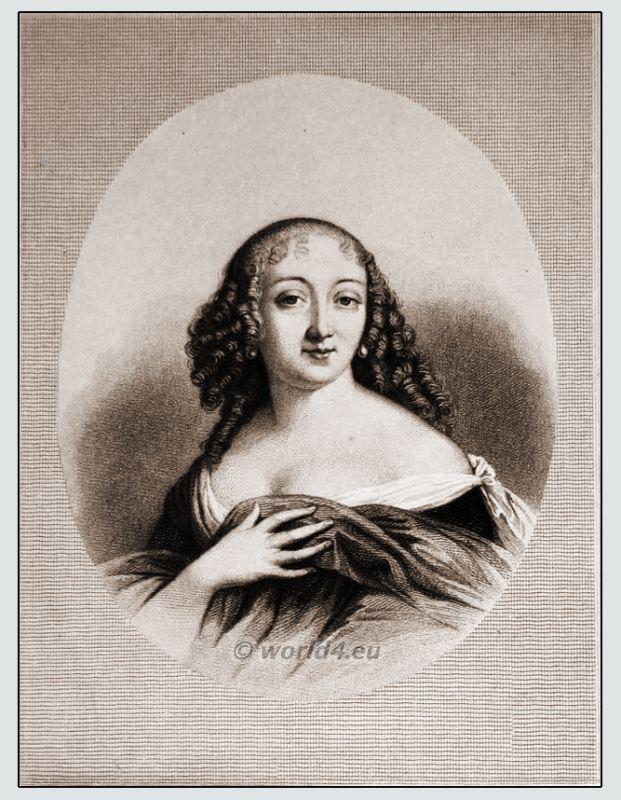 Louise de La Vallière, Mistress, Baroque, costumes,
