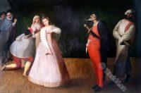 Commedia dell'Arte, Isabella Andreini, Compagnia dei Comici Gelosi,
