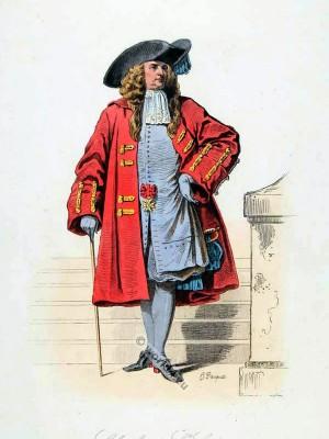 Ordre Royal et Militaire de Saint-Louis. Rege de Louis XIV