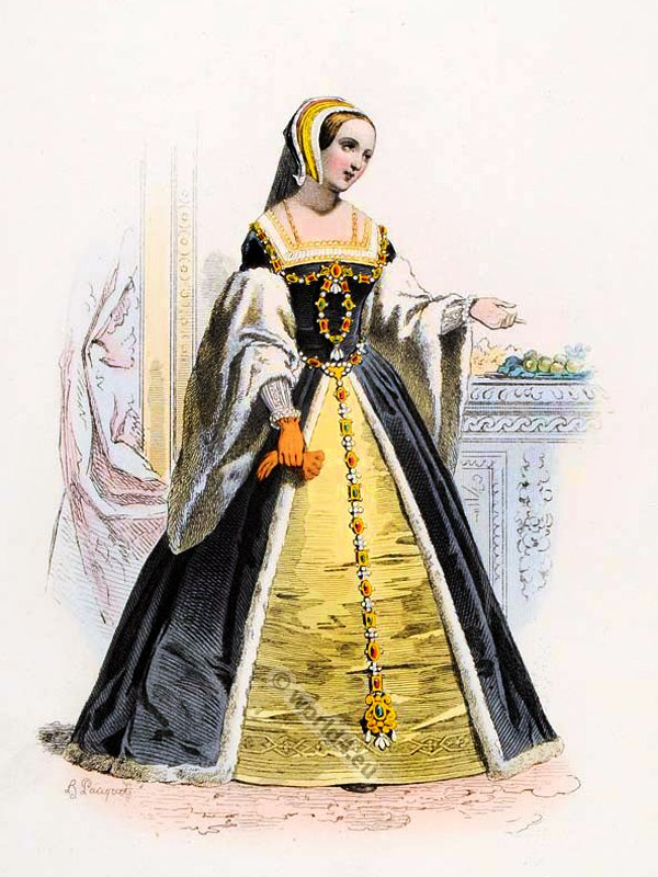 Reine, Queen, Claude, France, Renaissance, costumes