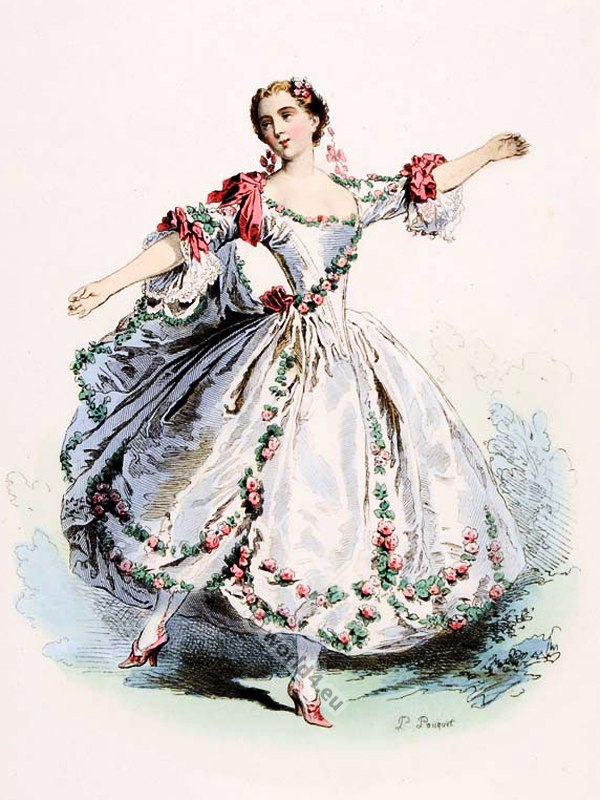 Marie Camargo, Camargo, France, Parisian ballet dancer, Rococo, dance