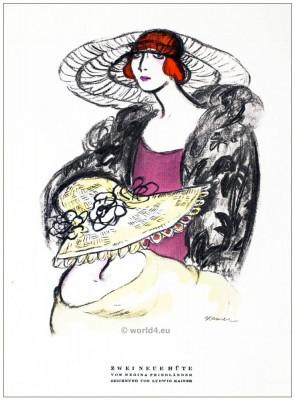 Regina Friedländer, Friedlaender, german, fashion, design, berlin, 1920s