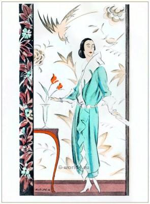 Art deco sheath dress. STYL Art Déco Fashion Magazine. 1920s. Roaring twenties fashion. Gibson Girls clothing.