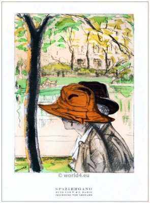 Hats, STYL, Art Déco, Fashion, Magazine, 1920s, C. Habich