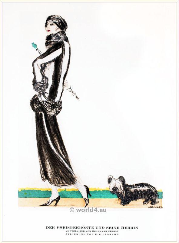 Herrmann Gerson, costume designer, jewish, berlin, 1920s, art deco, Styl, fashion magazine