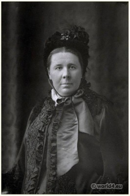 Emily Faithfull, Suffragist, British, feminist, Victorian, costume,