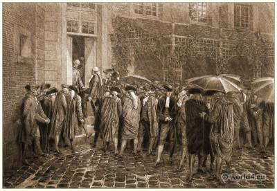 Tennis, Court, Oath, Revolution, française