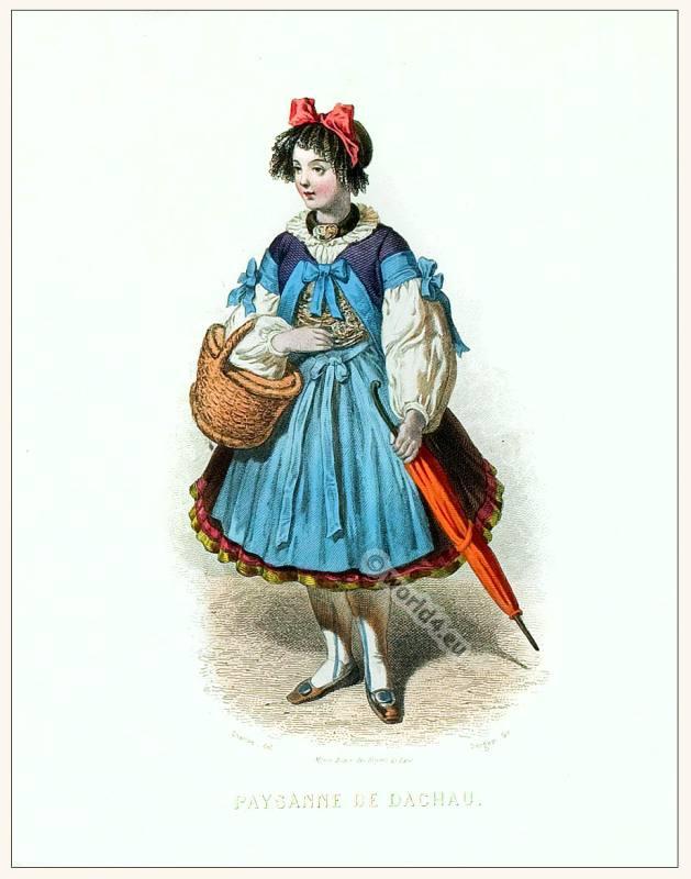 Germany, Dachau, Bavaria, clothing, Traditional, costume,
