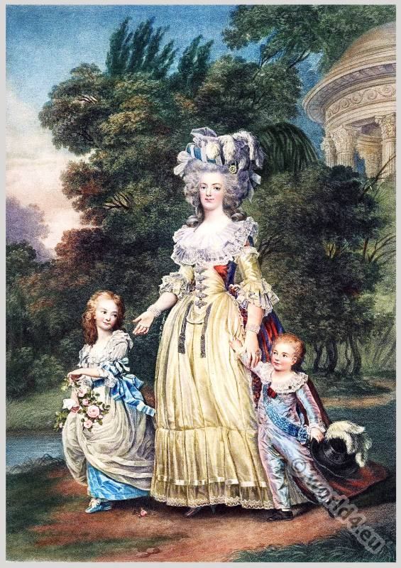 Queen, Marie Antoinette, Rococo, hairstyle,