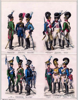 Bavarian, Bavaria, Military, uniforms, 19th century, soldier