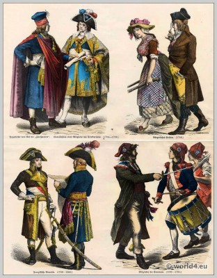French, revolution, fashion, Directory, Costumes, 18th, century