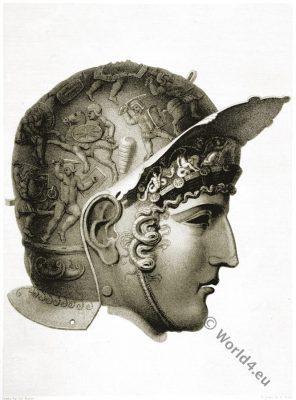 Antique, Helmet, Roman, Empire, Military,