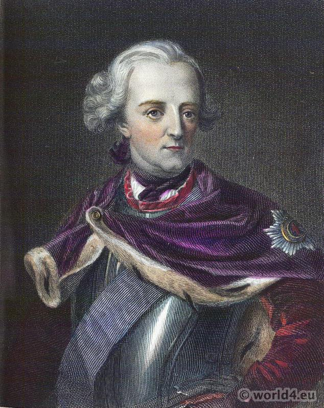 Prussian King. Hohenzollern. Frederick the Great. Frederick II. German nobility