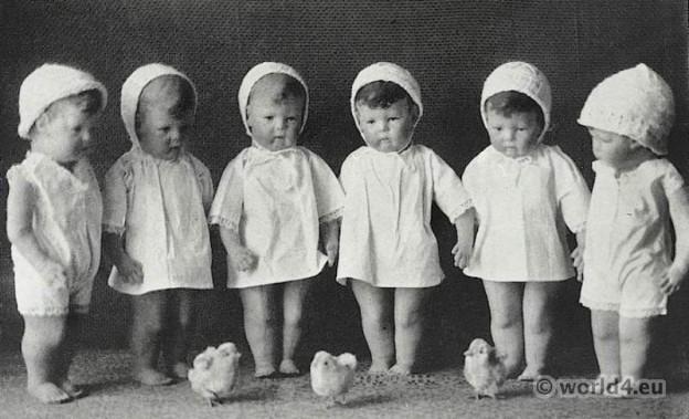Kathe Kruse original handmade dolls. Berlin 1912.