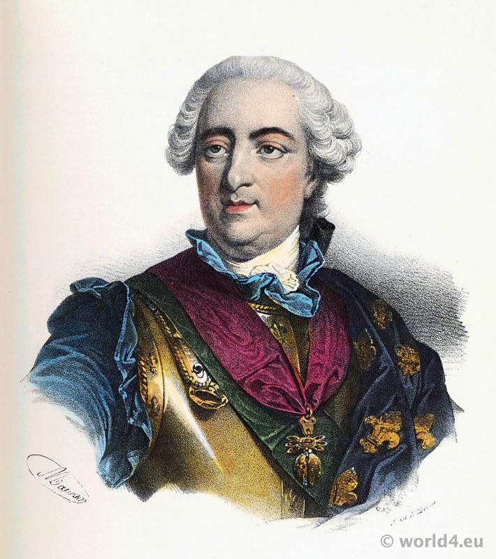 Louis XV, King, France, Rococo, 18th century,
