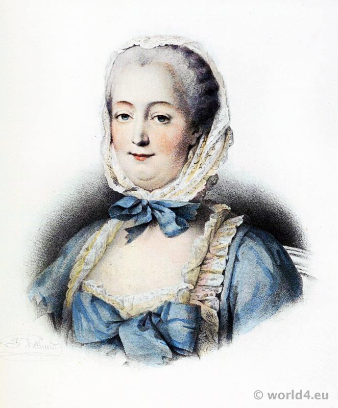 Madame de Pompadour. Mistress of Louis XV.