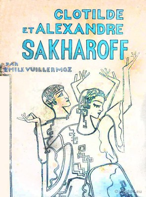 Book Clotilde and Alexandre Sakharoff by Emile Vuillermoz