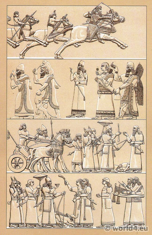 Assyria, Soldiers, Warriors, Sumeria, Ceremonials