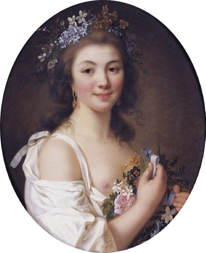 Comtesse, Genlis, fashion, history, rococo, costume,