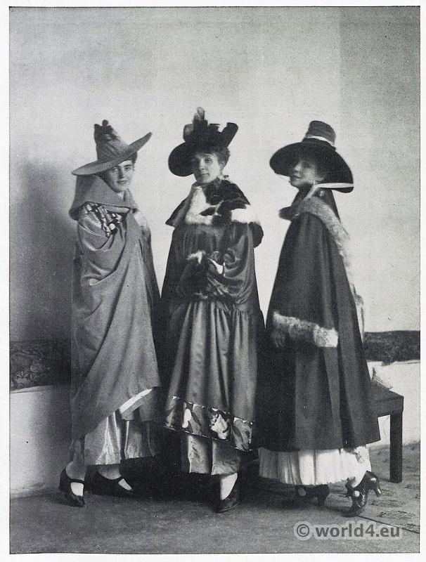 Costumes, Vienna Secession, Wiener Werkstätte, Workshops, Theatrical costumes