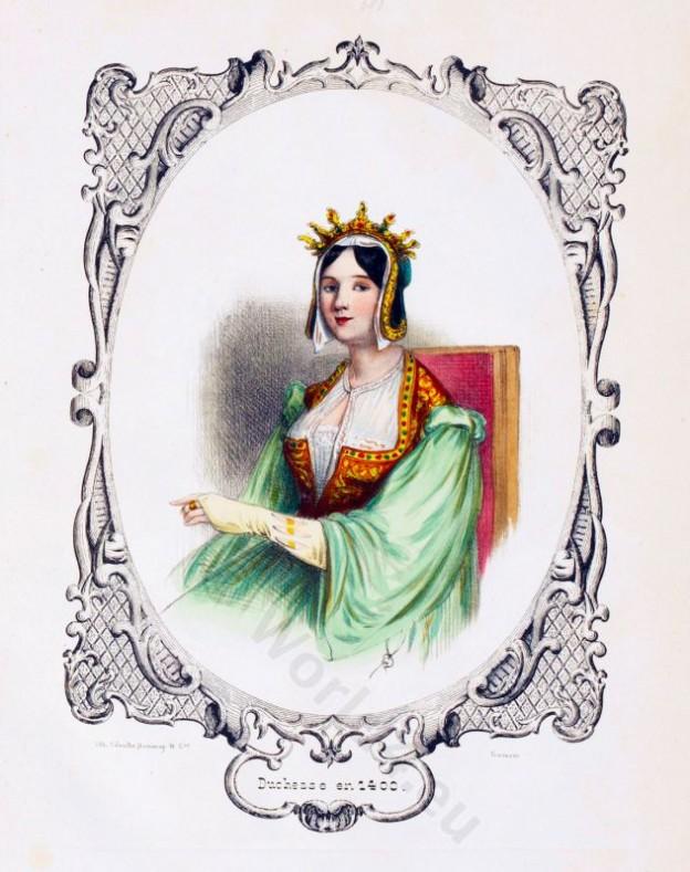 Gavarni, Duchesse, Nobility, Middle ages,