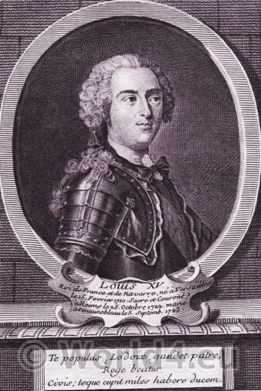 Louis XVI, knight, armor, portrait