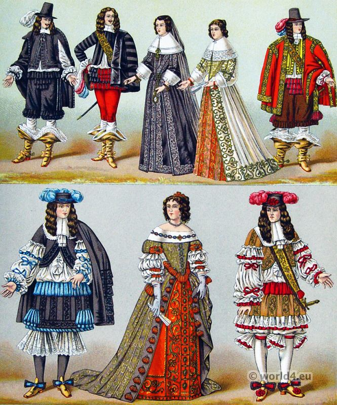 court, versailles, Baroque, Nobility, French, costume, fashion history, historical, dress, 17th century, Louis XIV