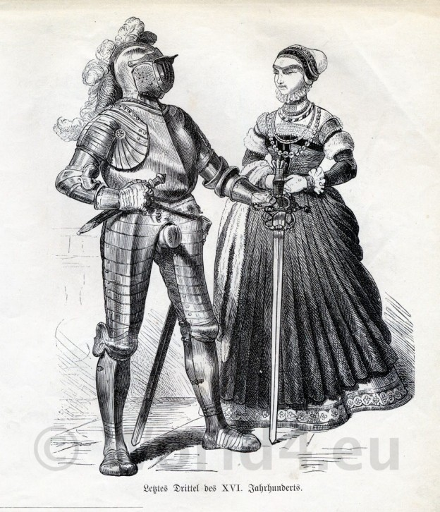 German, Knight, armor, weapons, middle ages, fashion, history