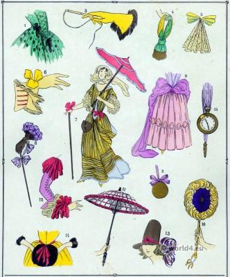 Colifichets, Modes, Louis XIV, Costume, féminin, français,