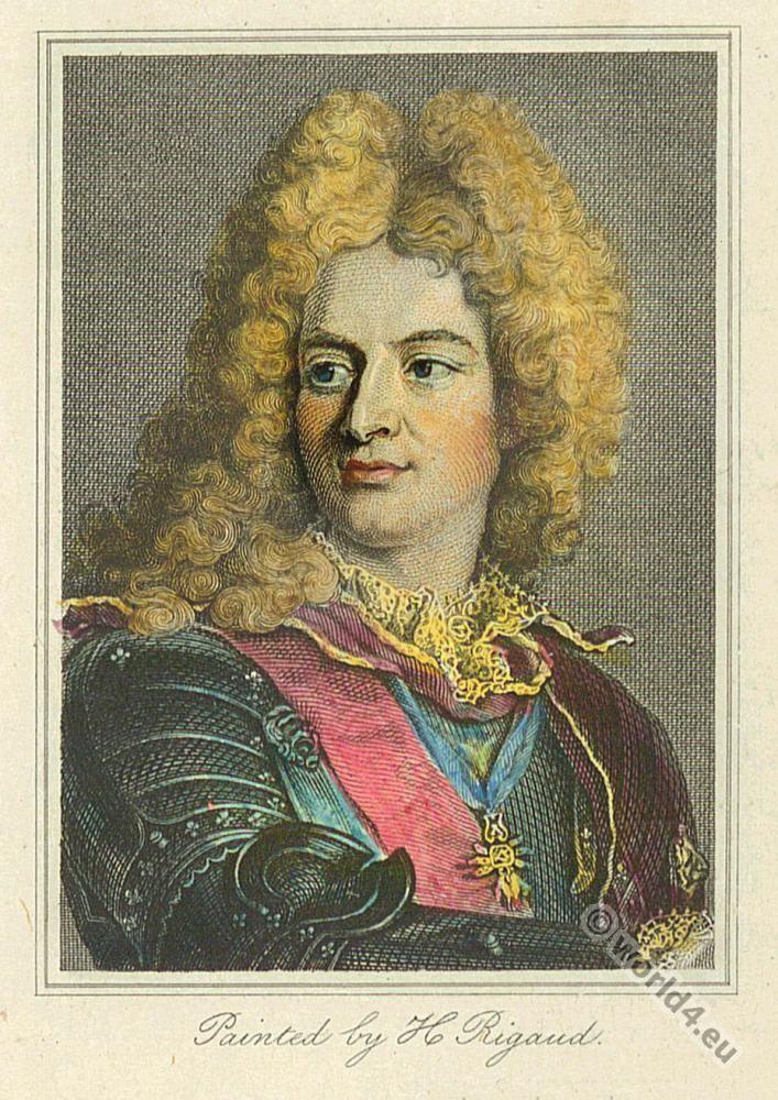 Louis-Alexandre de Bourbon. Marquise de Montespan. Lous XIV. 17th century nobility. Baroque era