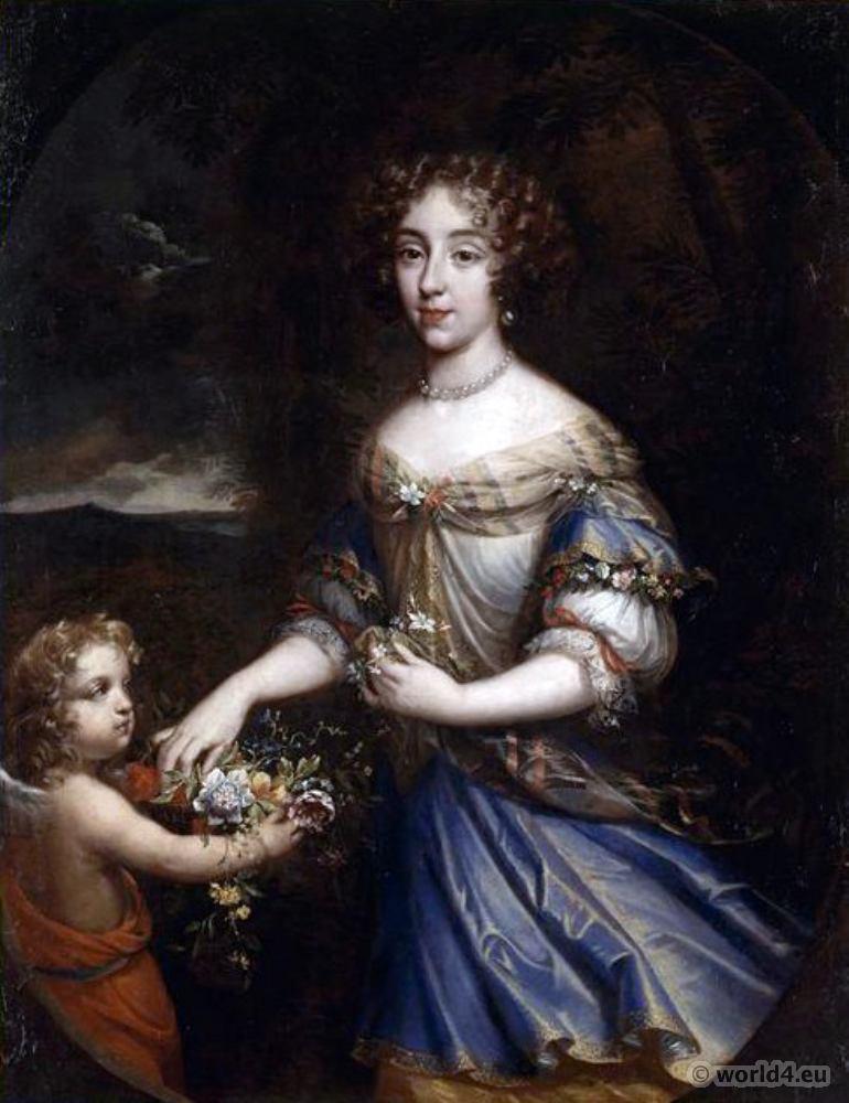 Mistress, Louise Françoise de La Baume Le Blanc, 17th century, Baroque,
