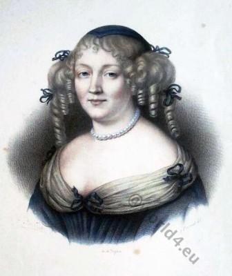 Marquise de Sévigné, Louis XIV, Fashion, history, baroque, 17th, century, Versailles,