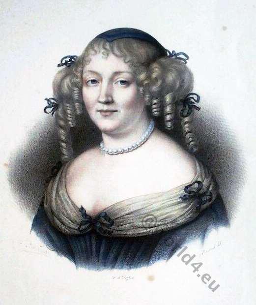 Marquise, Sévigné, portrait, Robert Nanteuil, baroque,