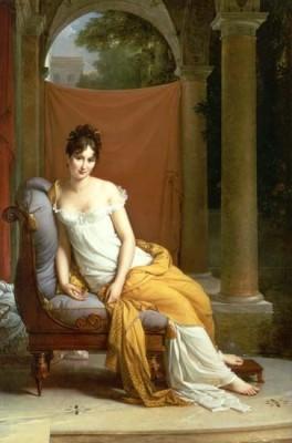 Juliette Récamier, Salonnière, Merveilleuse, consulate, fashion, François Gérard, Directoire