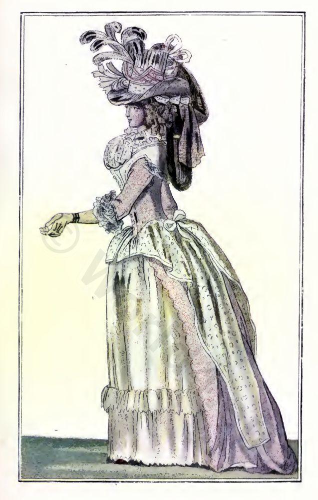 French, Revolution, Directory fashion
