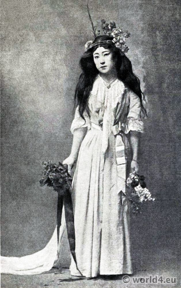 Japan, Actress, Sada Yacco