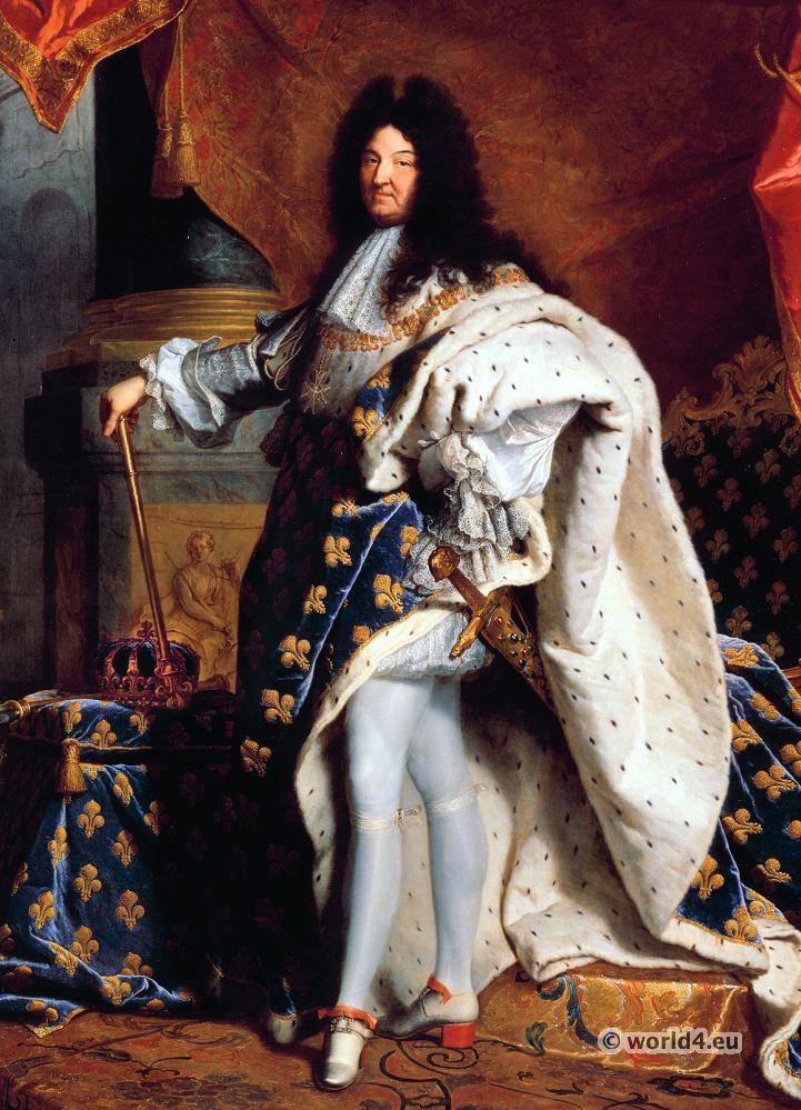 Louis XIV, Royal Costume, Baroque