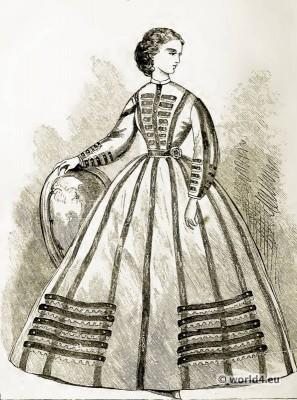 Corset, Crinoline, Victorian, Fashion, Farthingale.