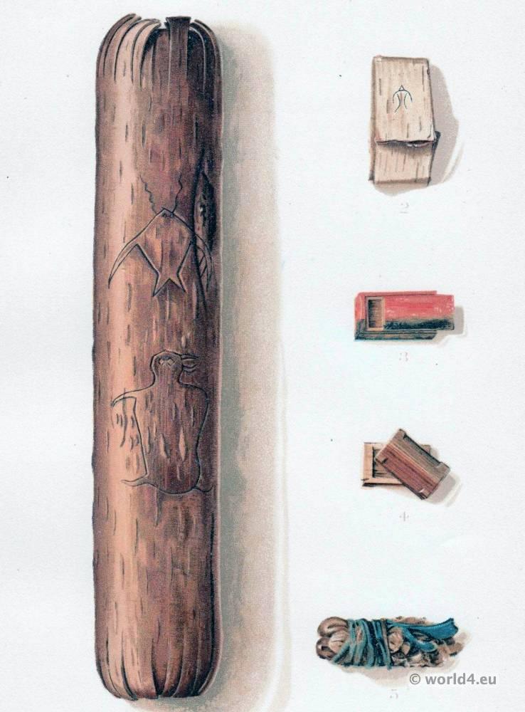 Ojibwa, Sacred, Bark, Midē Wiwin, Grand, Medicine, Society,
