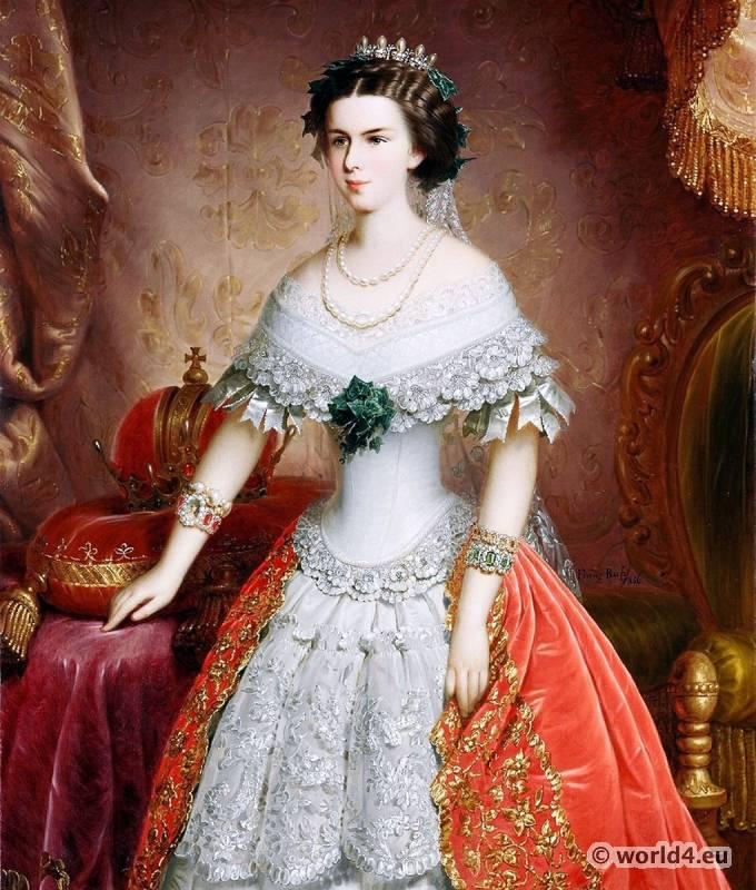 Empress, Elisabeth, Austria,