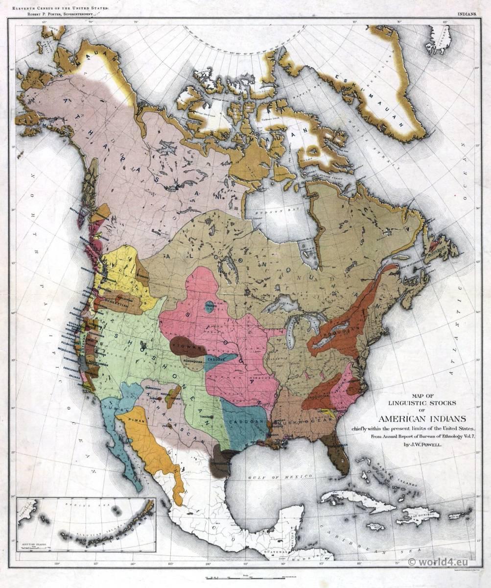 Ojibwa, Map, Linguistics, American, Indians, Midē, Wiwin, Grand, Medicine, Society,