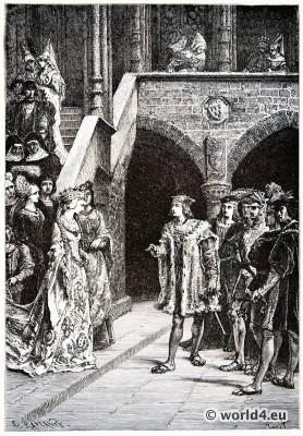 Charles VIII, Anne, Brittany, Renaissance, Alphonse de Neuville