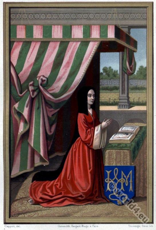 Anne, France, Madame, Grande, Renaissance, fashion, history,