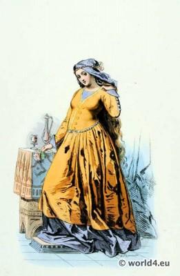 Courtisane, Renaissance, fashion,