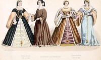 French Renaissance Costumes, Adornment, jewelry. Reign of Francis the First