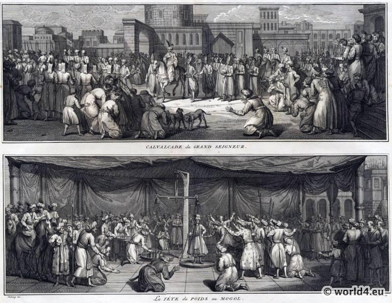 India Mughal,  Empire, costume, Ceremonies, Religious, Customs,